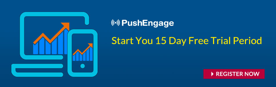 Free trial for push notification