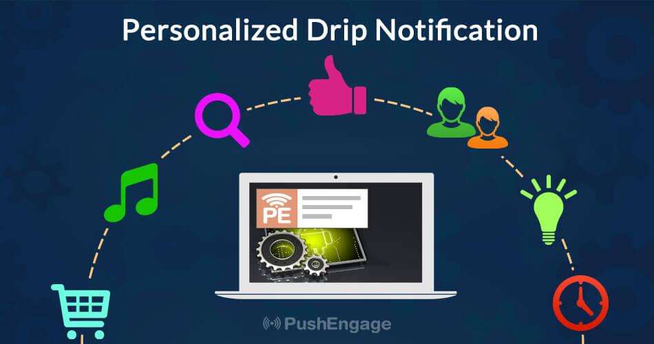 drip marketing in push notification