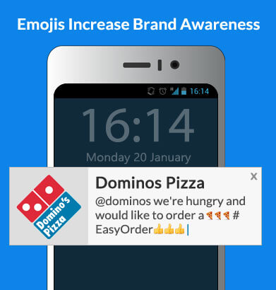 advantages of using emojis in web push notifications