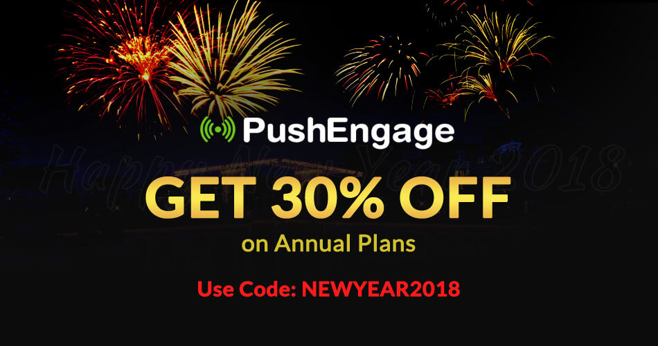 New Year Deal On Web Push Notification Service