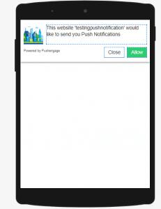 PushEngage web push notifications