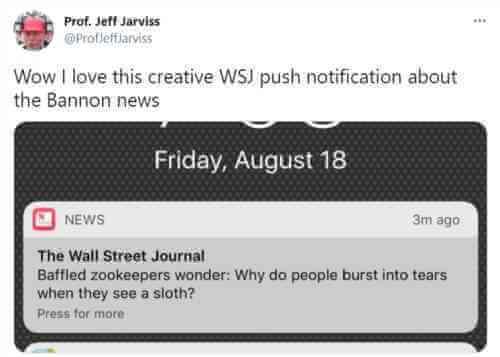 WSJ push notification best practices