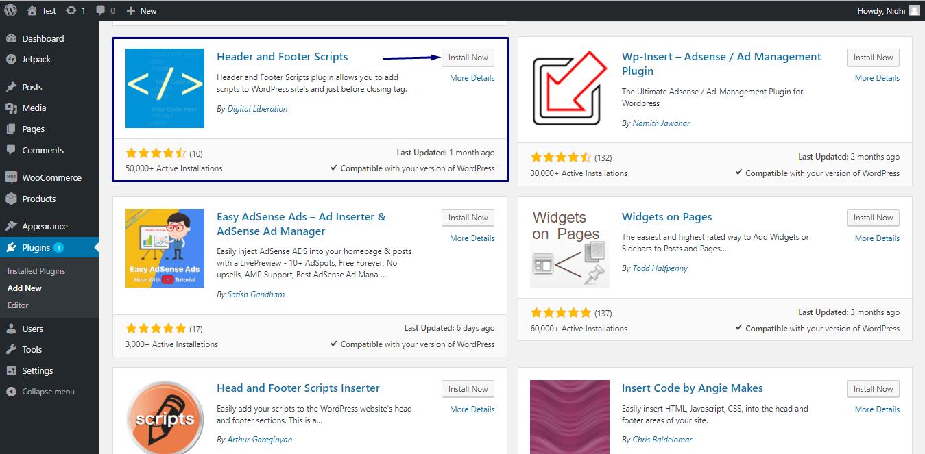 integrating desktop push notification on woocommerce website