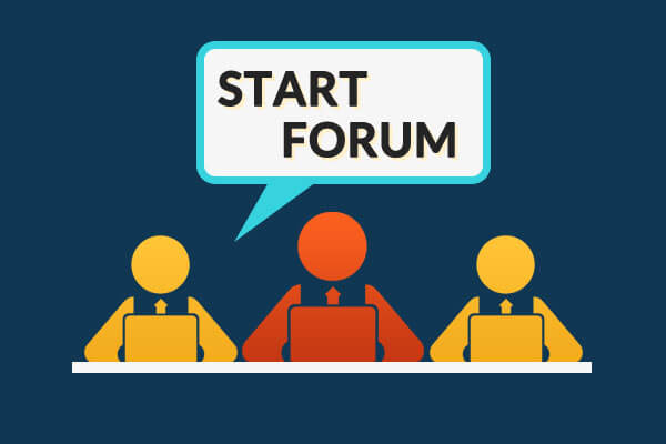 Start a forum to discuss and engage user