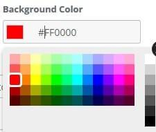 customize color of unsubscription button