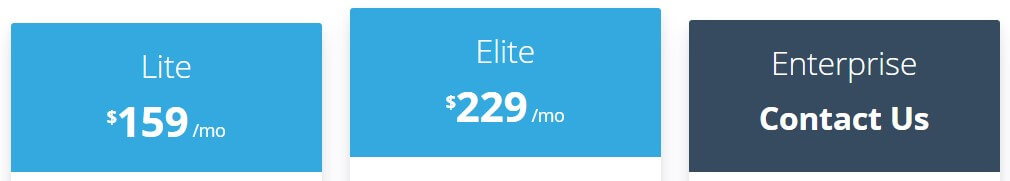 Belly pricing for e-commerce