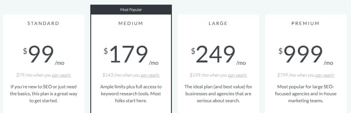 seo moz pricing for e-commerce