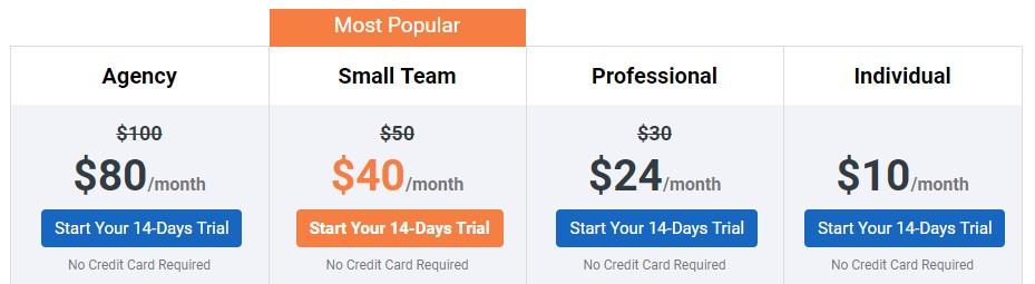 socialpilot pricing for e-commerce