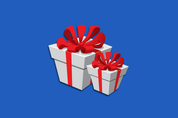 Offer complimentary gifts