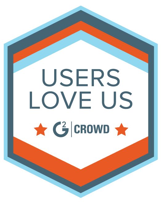 User Loves Us Badge From G2Crowd