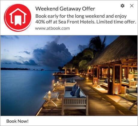 Weekend Getaway offer