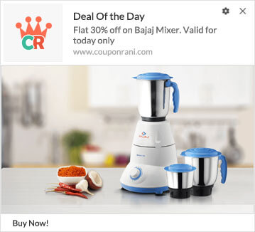 Deal of the Day Campaign using Web Push Notification