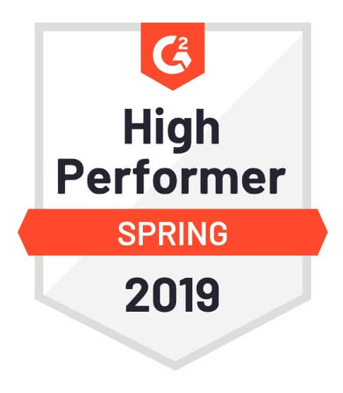PushEngage awarded for high performer for Push Notification by G2 Crowd