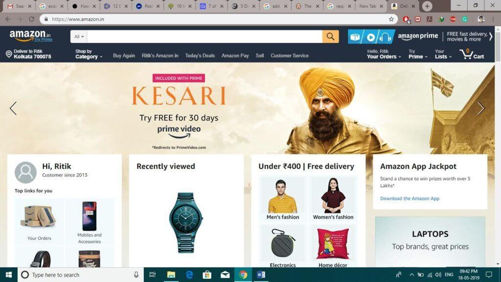 Optimize Your E commerce Website