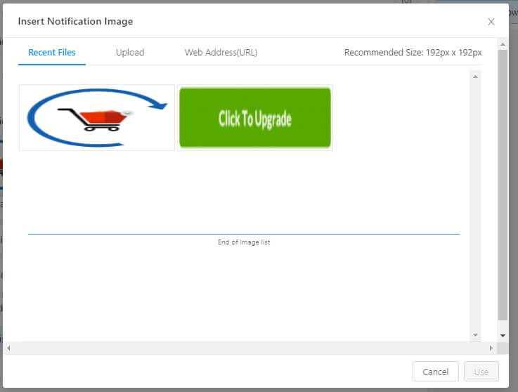 PushEngage Image Library for web push notifications