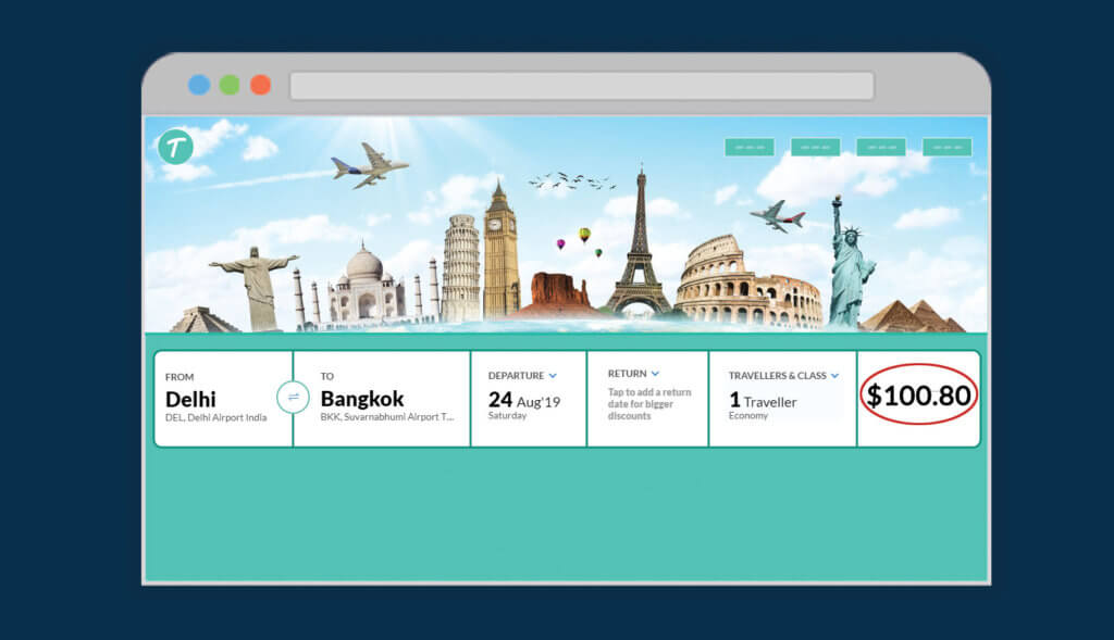 Price Clarity When Booking for Travel