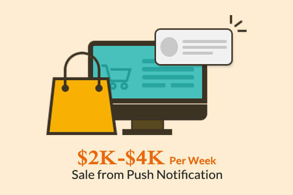 Wicked Weasel Impact Of Push Notification On Revenue