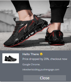 PushEngage price drop notification.png