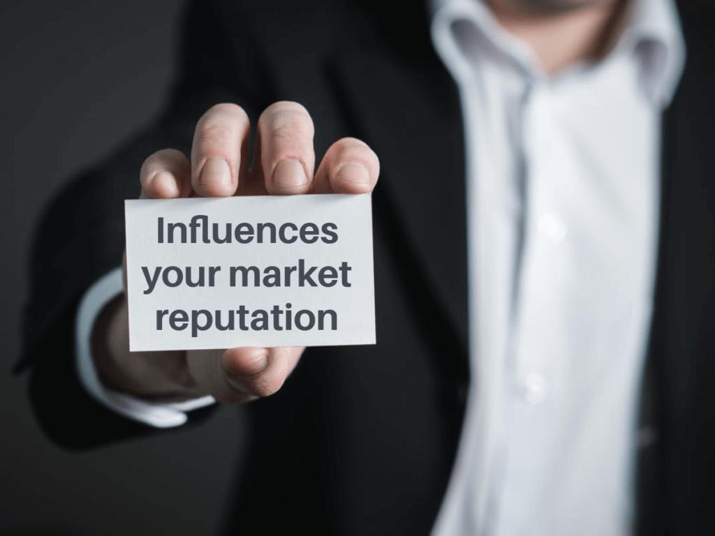 digital marketing helps you to manage Market reputation