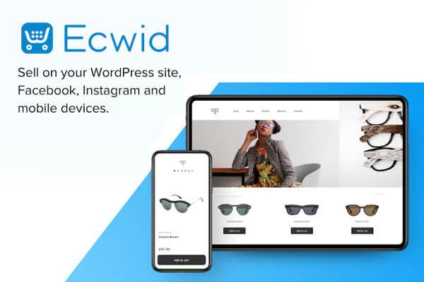 Ecwid Ecommerce Shopping Cart Plugin