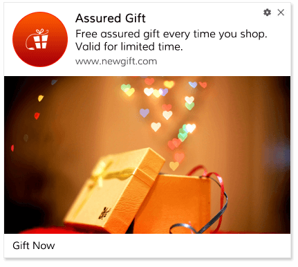 Push Notification Template Assured Gift