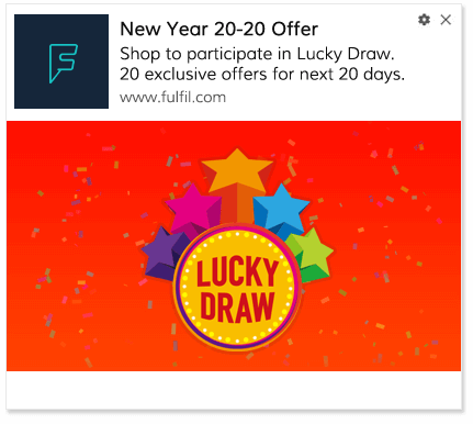 Push Notification Template New Year Offer