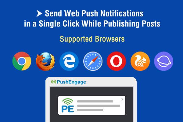 PushEngage Push Notification Plugin