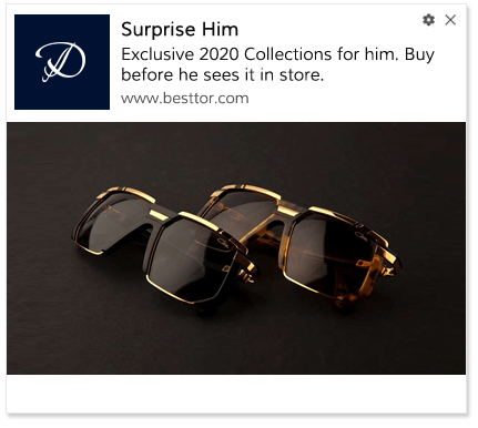 Web Push Notification Template Surprise Him