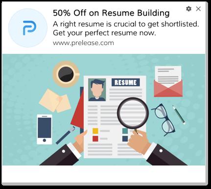 Discount Web Push Notification For Job sites