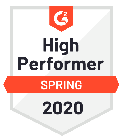 G2Crowd 2020 Spring PushEngage