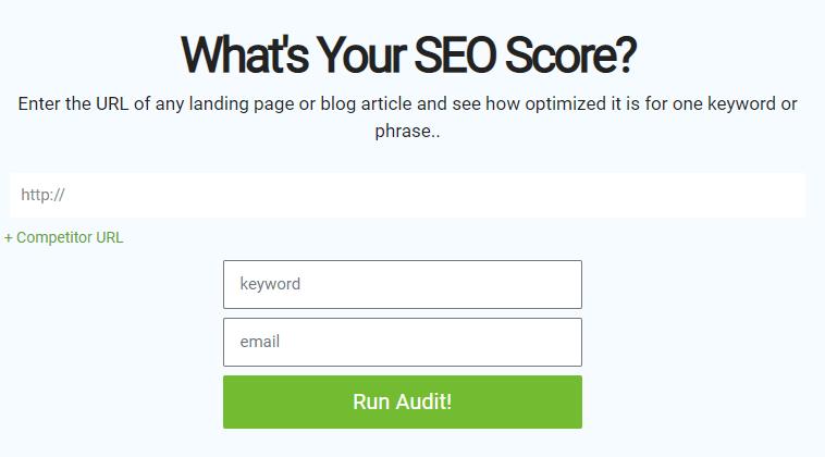 Mysiteauditor content audit tool