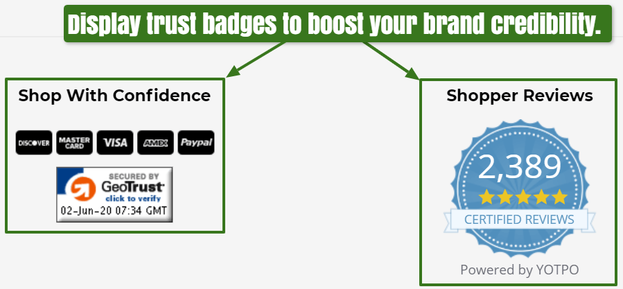 Tmbr trust badges