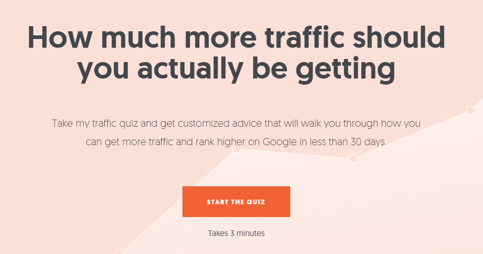 interactive landing page