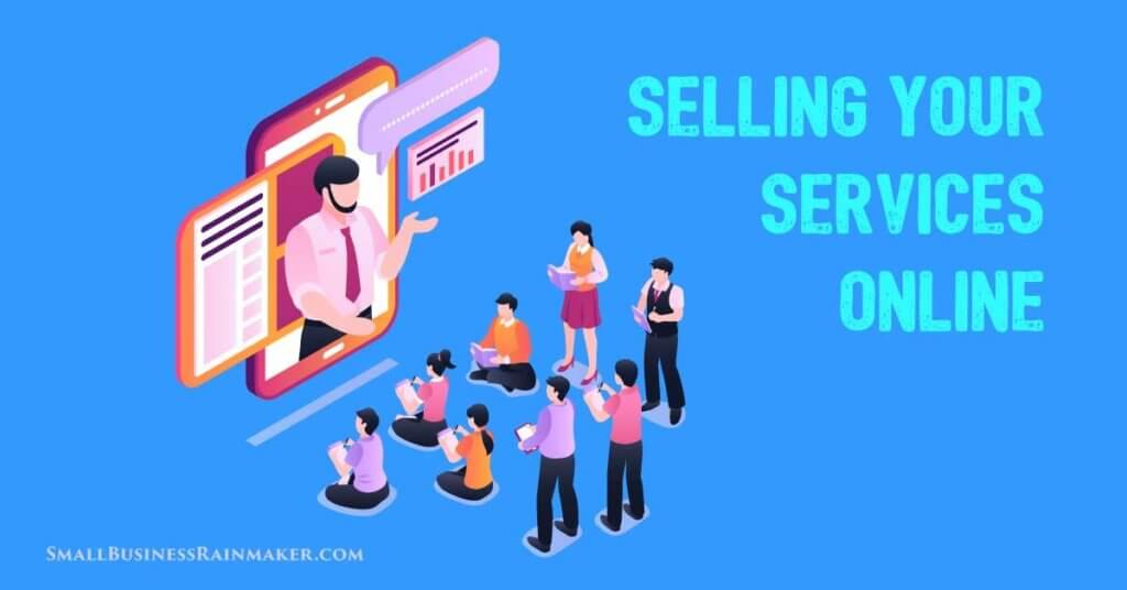 sell services online
