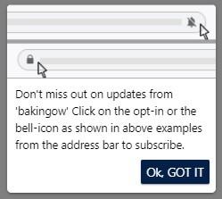show opt-in reminder