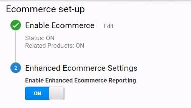 Google Analytics Enhanced eCommerce Setup