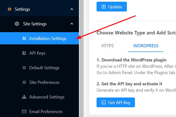 Install PushEngage plugin
