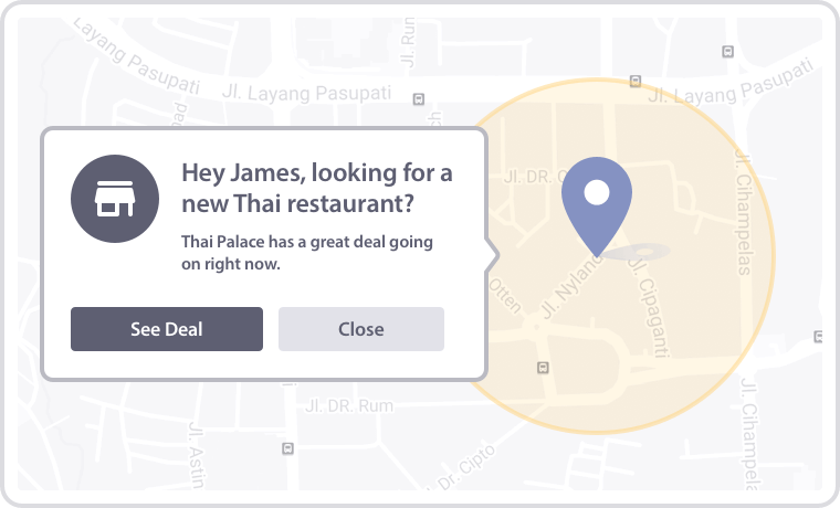 Personalization by Geolocation
