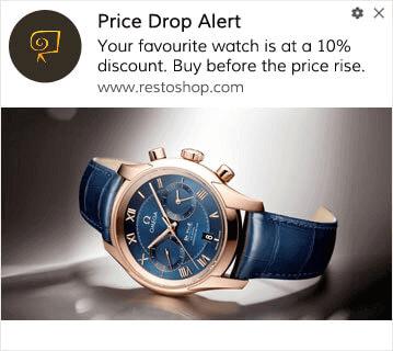 Price Drop Campaign