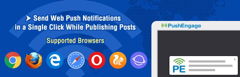 PushEngage push notifications