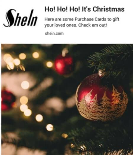 Shein Seasonal Sales