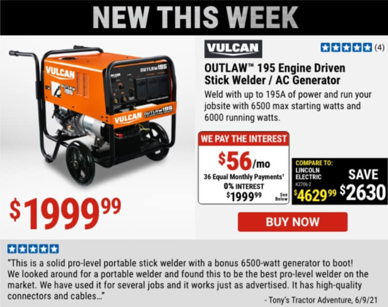 Harbor Freight New Arrivals