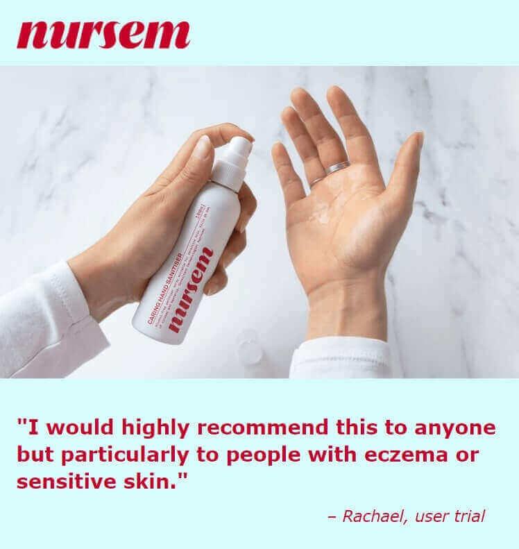 Nursem Testimonial advertisement