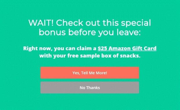 SnackNation Free Sample