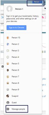New Chrome Profile