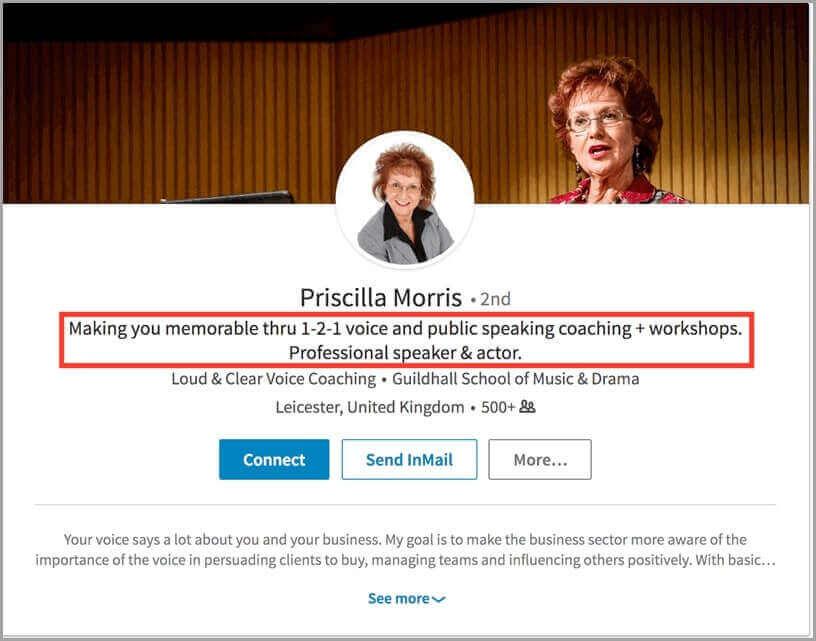 Priscilla Morris Public Speaking